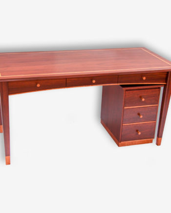 Jarrah Desk & Drawers Margaret River Cowaramup Busselton Perth