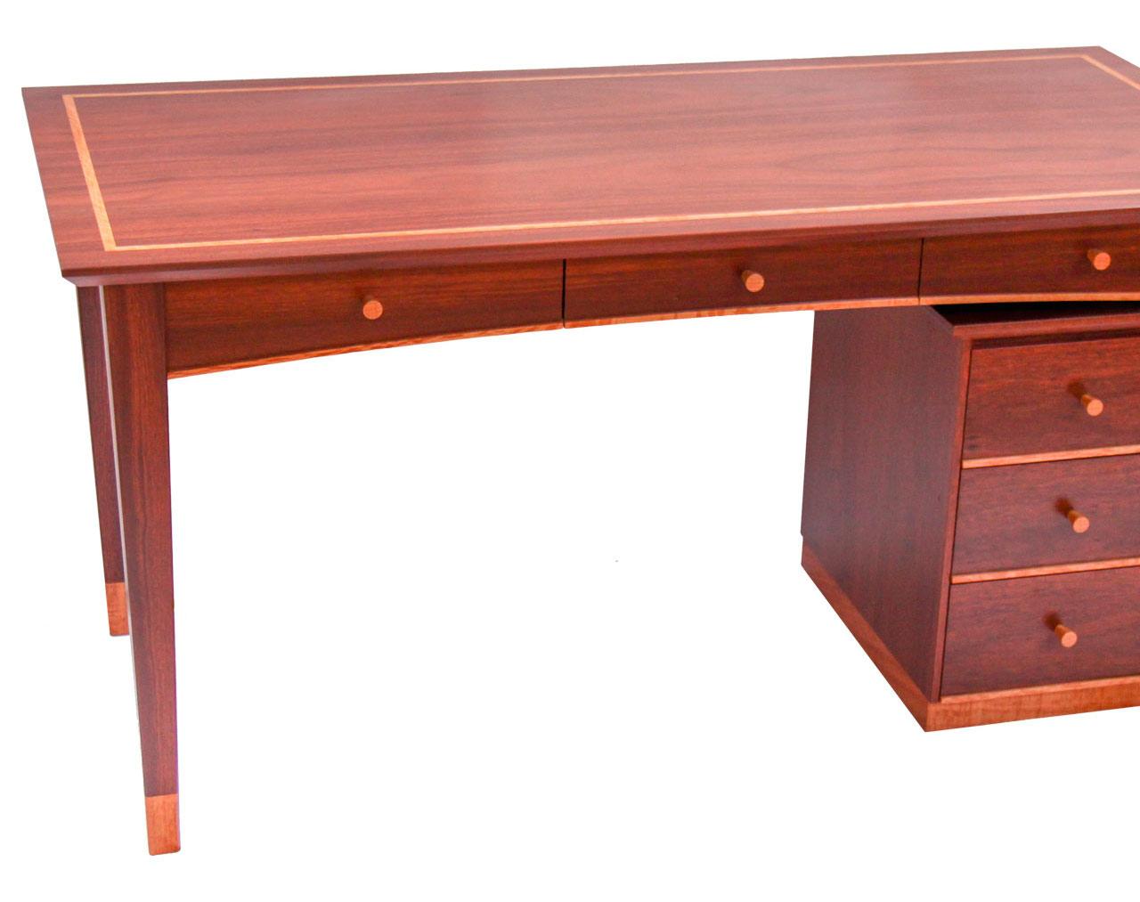 Jarrah Desk & Drawers Margaret River Cowaramup Busselton Perth