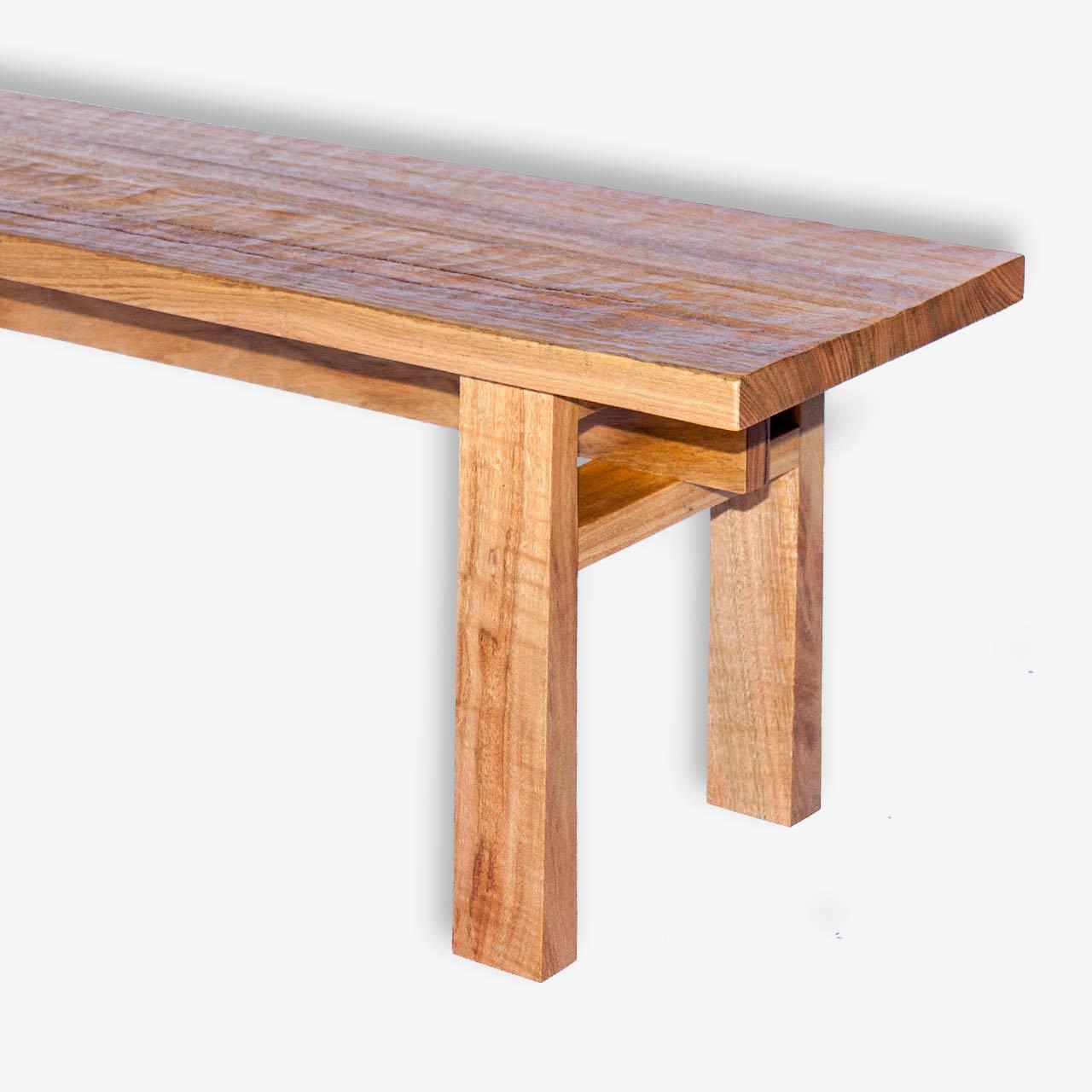 Orientalis bench seat marri cowaramup busselton margaret river