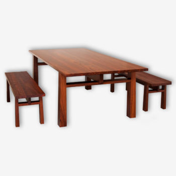 Jarrah Dining Table Margaret River Cowaramup Busselton Perth