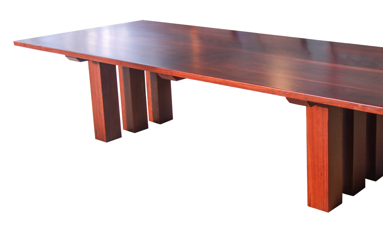 Jarrah Table Perth Patio Treeton Fine Wood Studio
