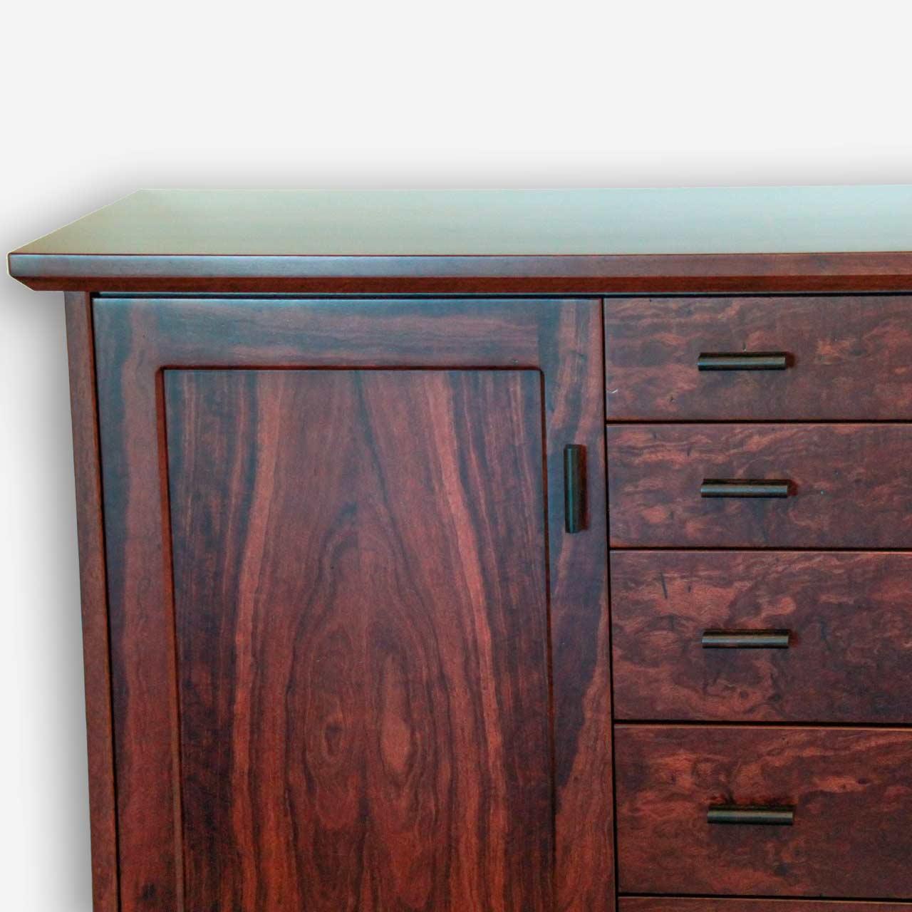 retro sideboard in jarrah treeton fine wood studio. Black Bedroom Furniture Sets. Home Design Ideas