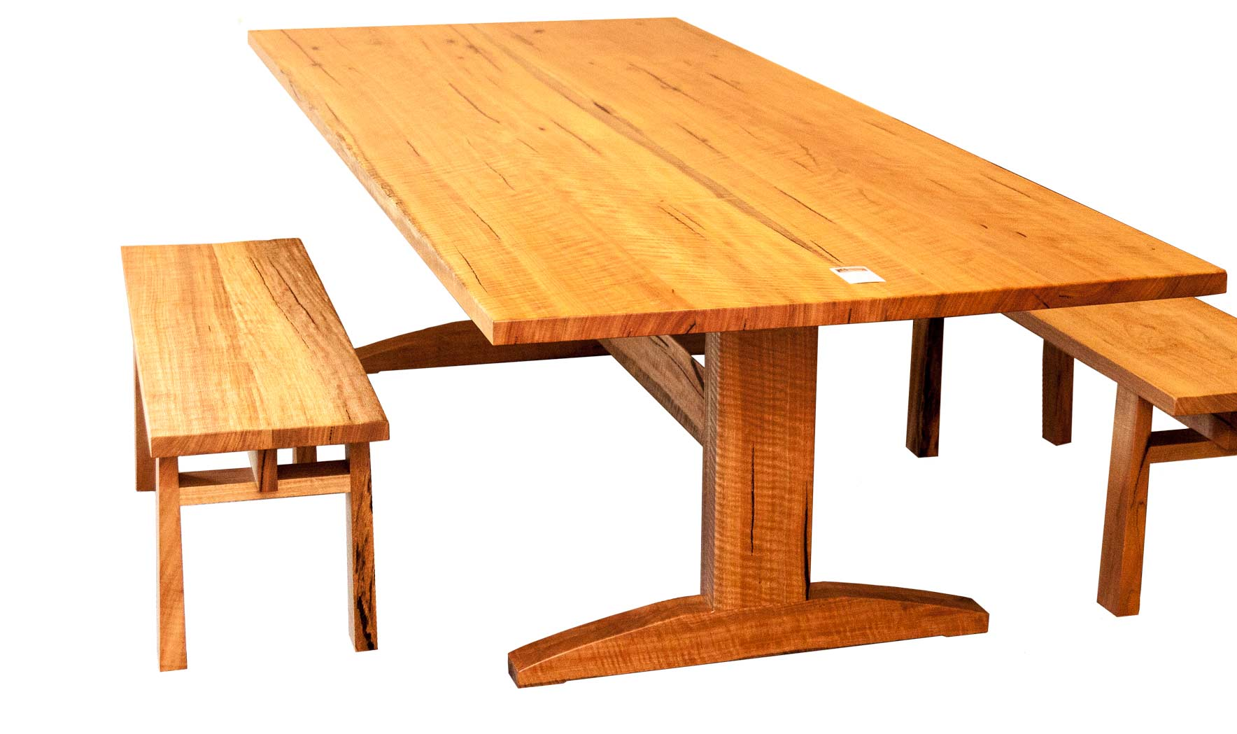 39 Trestle 39 Dining Table In Marri Treeton Fine Wood Studio
