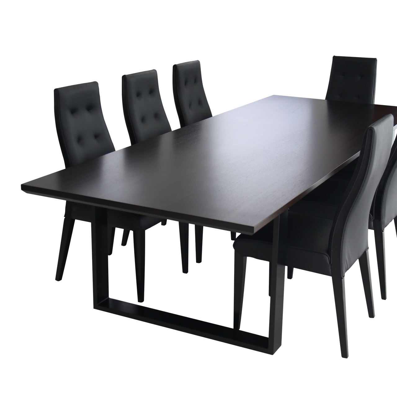 jarrah dining table perth shadow ebonised
