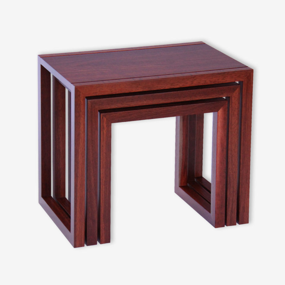 jarrah nest of tables perth infinity